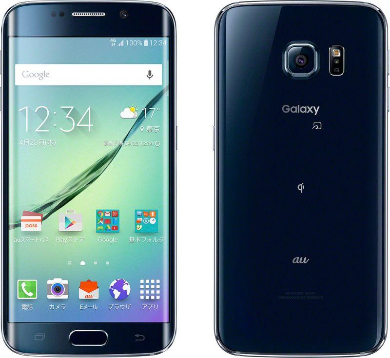 Galaxy S6 edge SCV31 32GB au