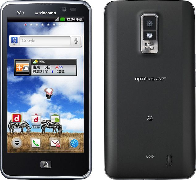 Optimus LTE L-01D docomo
