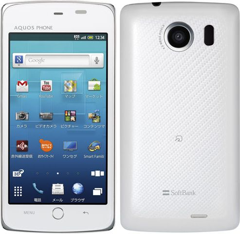 AQUOS PHONE THE PREMIUM 009SH SoftBank
